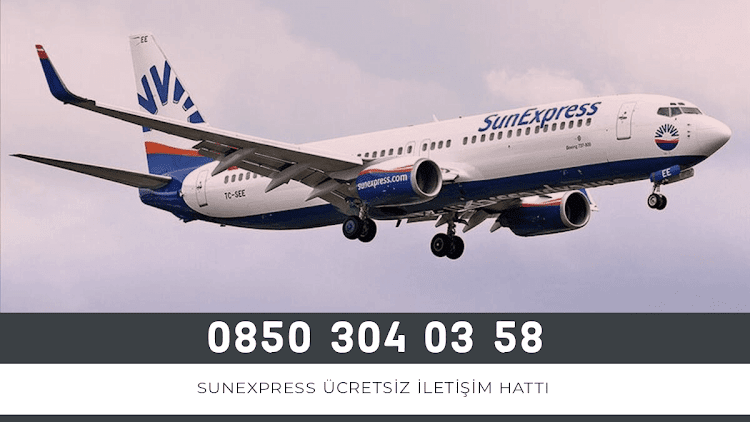 Sunexpress Ücretsiz İletişim Hattı