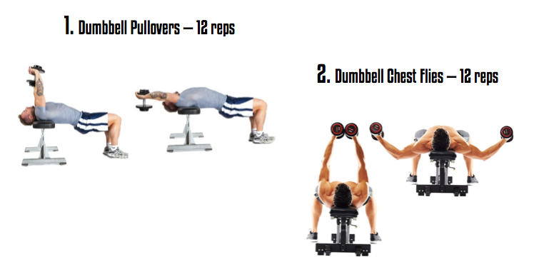 Dumbbell Exercises for Chest - Fit and Slim Indian