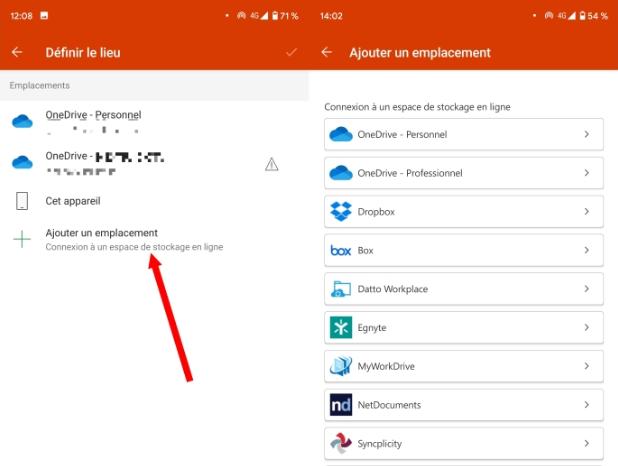 ولكن من الممكن تمامًا توصيل موقع Cloud آخر ، خارج OneDrive. انقر فوق إضافة موقع وتوصيل مساحات التخزين الأخرى عبر الإنترنت.