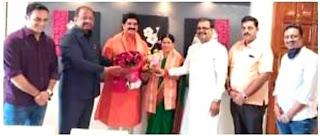 मुम्बई में हुआ ज्ञानप्रकाश सिंह का सम्मान | #NayaSaberaNetwork