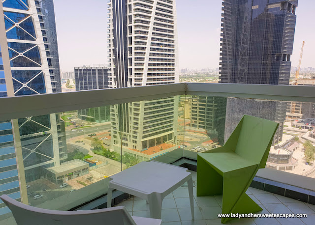 Terrace in OYO Home Dubai