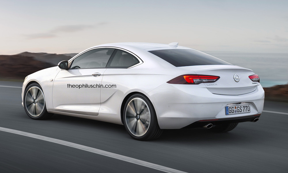 New Insignia Would Make For A Good Looking Coupe For Opel Buick