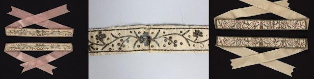 jarreteiras do século XVIII