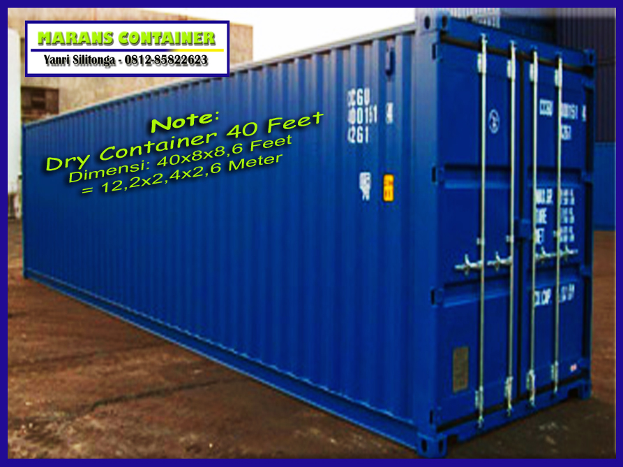Depo Container Jakarta Msc Depot Jakarta Container Depot
