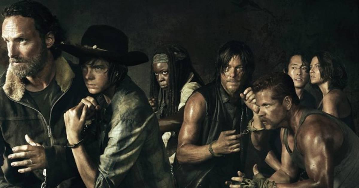 Grupo no WhatsApp de The Walking Dead
