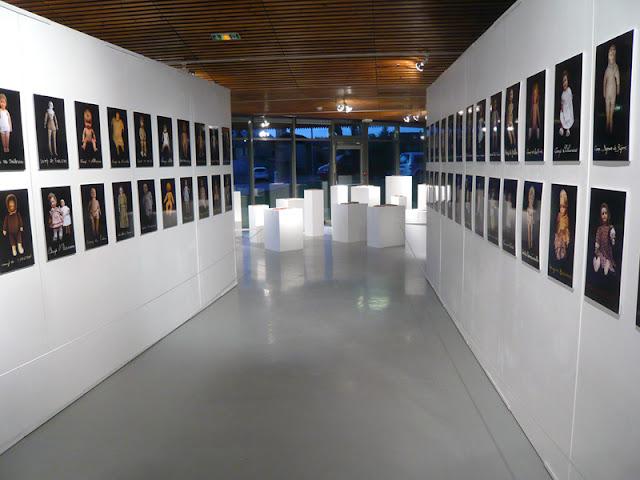 Vue de l'exposition 1011 à l'Espace Aragon 2017