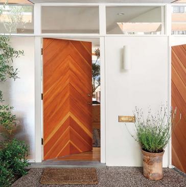 model pintu minimalis modern unik