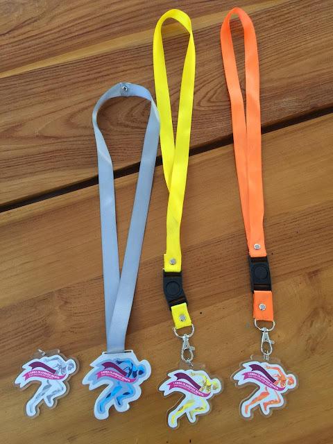 Tali name tag medali