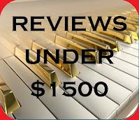 Digital Piano Reviews Under $1500