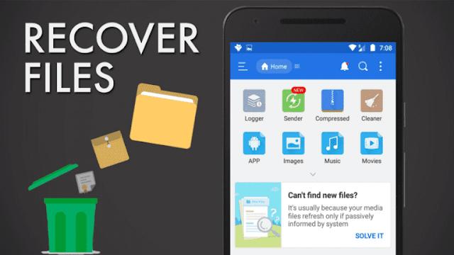Cara Memulihkan File yang Terhapus di Android