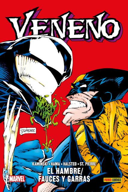 Reseña de 100% Marvel HC. Veneno: El Hambre / Fauces y Garras - Panini Comics