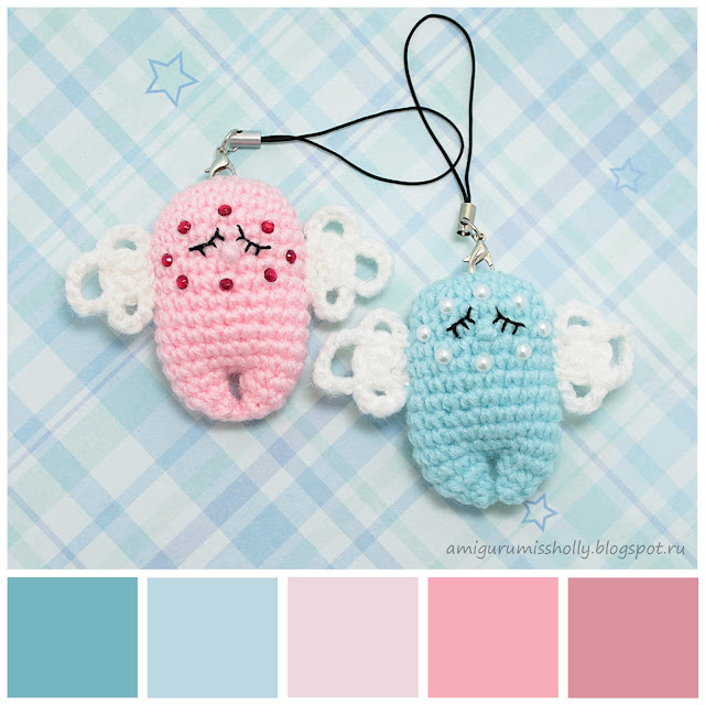 SLEEPING ANGEL KEYCHAIN – FREE PATTERN
