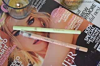 Pixi Bright Eyes Liner in Nude vs Rimmel ScandalEyes Kohl Pencil in Nude - Aspiring Londoner