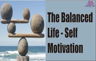 The Balanced Life - Self Motivation