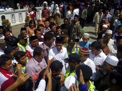 Pak Jokowi pondok pesantren giri kusumo