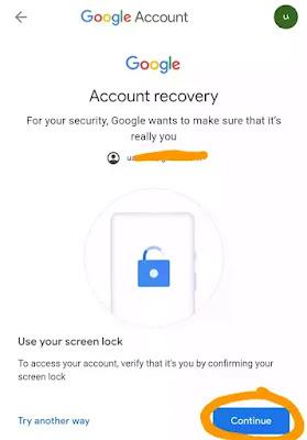 How do I retrieve a forgotten Gmail password