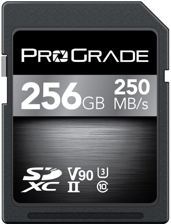 ProGrade SDXC UHS-II V90 256GB