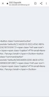 login PTK error kode html