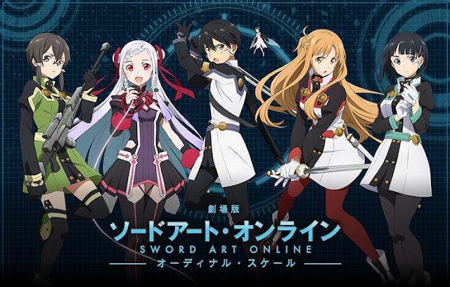 Sword Art Online Movie: Ordinal Scale (2017) Subtitle Indonesia 720p 1080p BluRay [Google Drive]