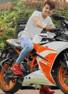 Riyaz Aly With KTM
