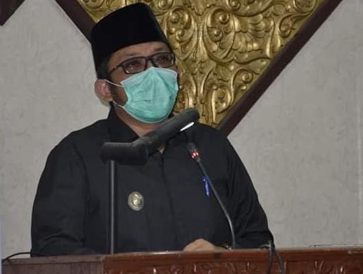 DPRD Kota Padang Gelar Rapat Paripurna Penyampaian Nota Pengantar Keuangan RAPBD TA 2021