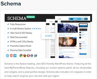 Schema, The Fastest loading WordPress Theme From Mythemshop