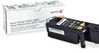 Xerox WorkCentre 6027 printer color yellow toner