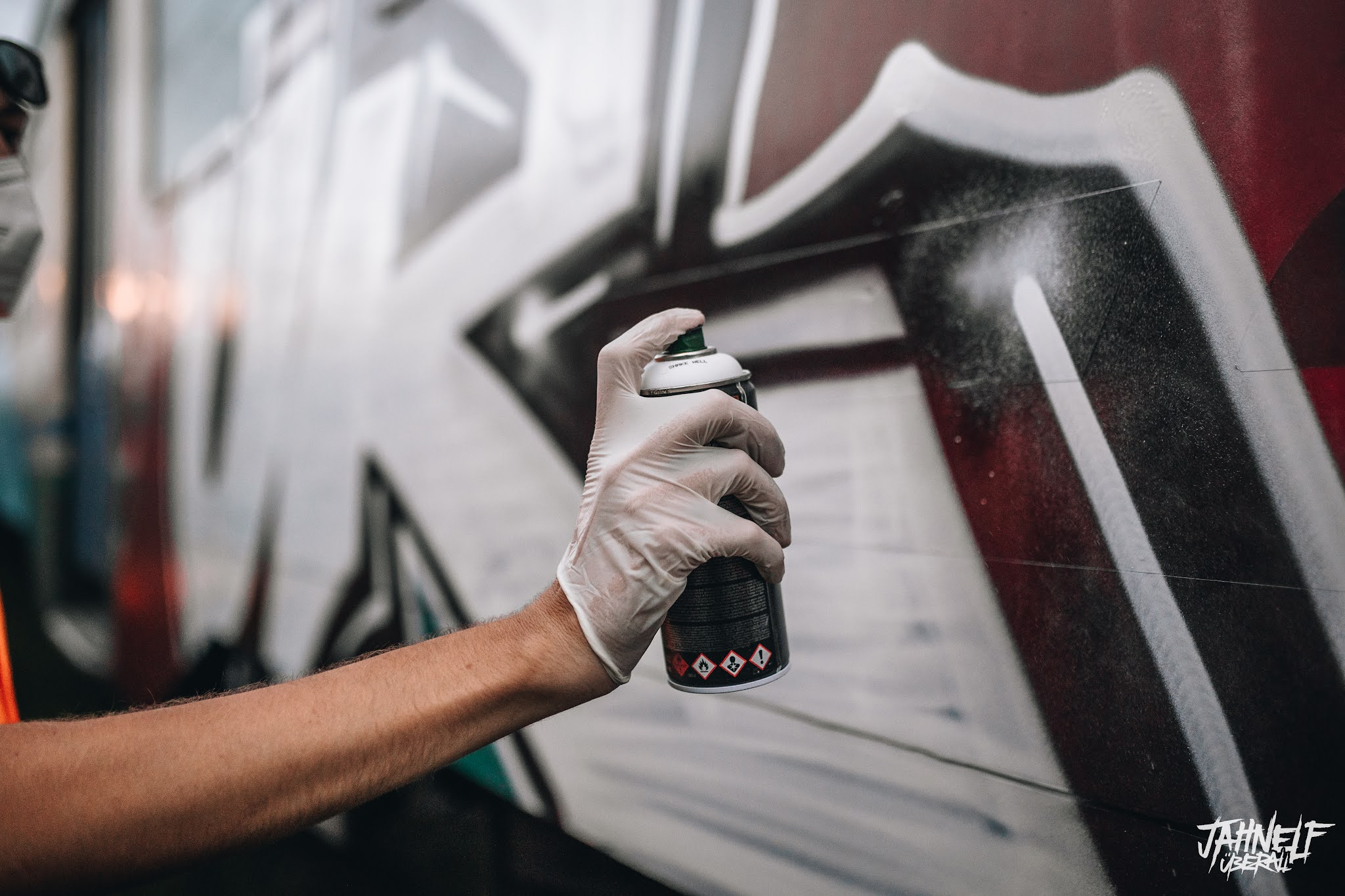 UR Graffiti an Zug