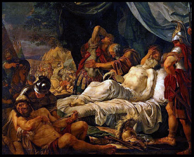 La muerte de Pelópidas