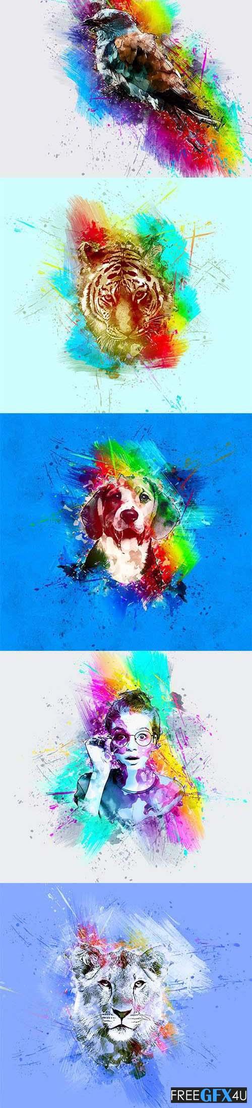 Paint Photoshop Action
