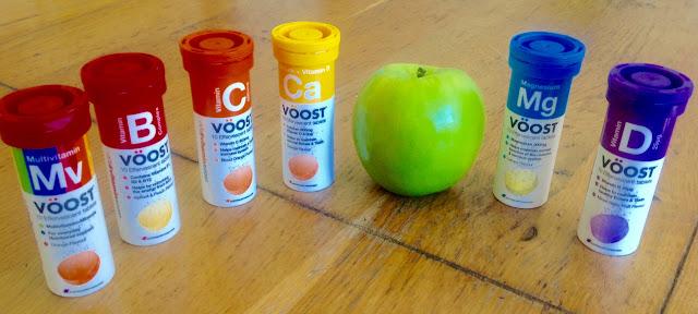 vitamins and apple