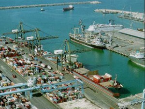 two containers clearing now in the Israeli port