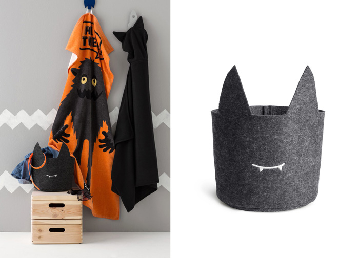 storage with monster from H&M home collection
