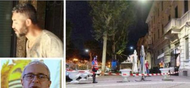 الاكتفاء بوضع قاتل مهاجر مغربي بايطاليا  قيد الاقامة الاجبارية، وتفاصيل جديدة حول اسباب الجريمة