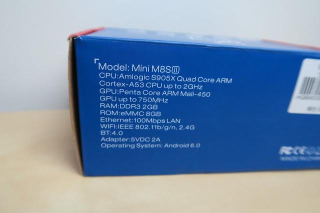 Análise Mini M8S II 44
