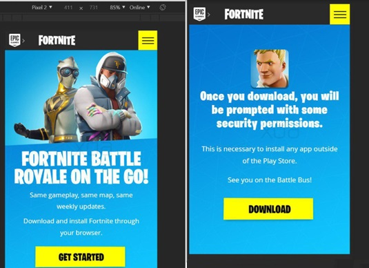 Fortnite Mobile en Android puede no estar disponible en Google Play Store
