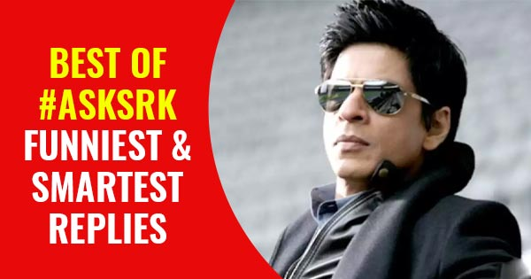Shah RUkh Khan best smart and funny replies