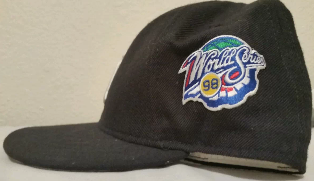 38b68a08bdb ... low price 1998 world series new york yankees cap fresh fitted friday  53317 146a5