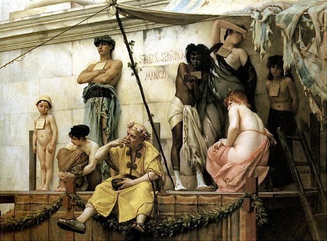 Gustave Boulanger: Il mercato degli schiavi