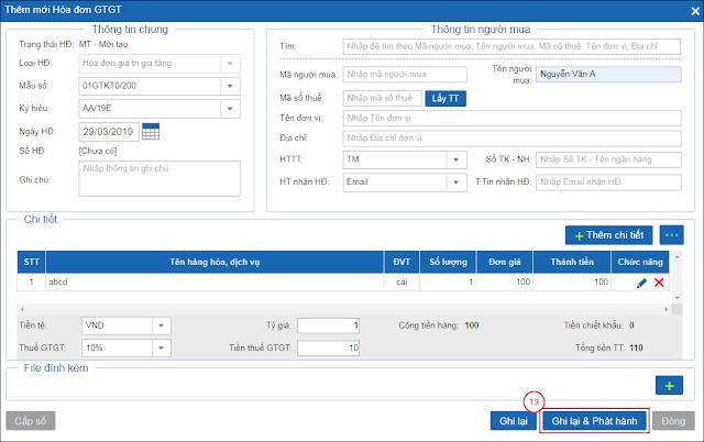 Hướng dẫn sử dụng hóa đơn điện tử Bkav lần đầu