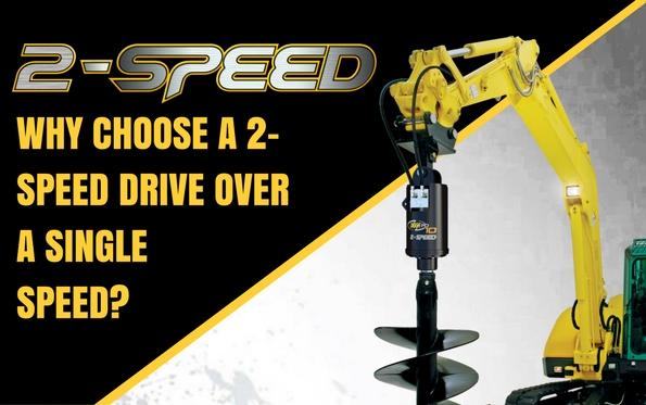 Digga Australia - 2 speed auger drive - Australian Made