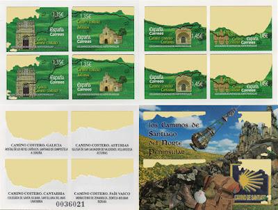 Carné de ocho sellos, camino de Santiago del Norte
