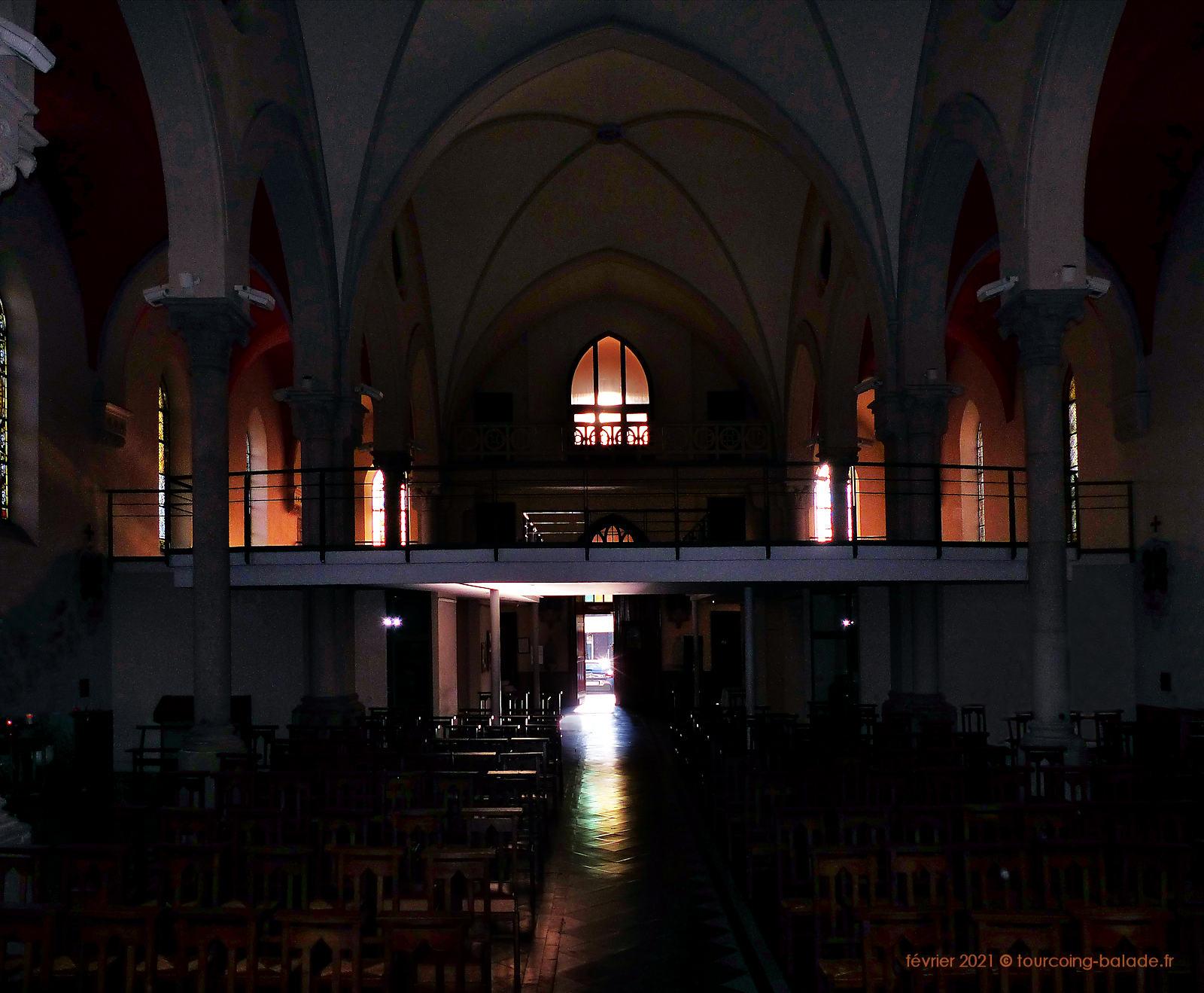 Tribune de l'église Notre-Dame de Consolation, Tourcoing