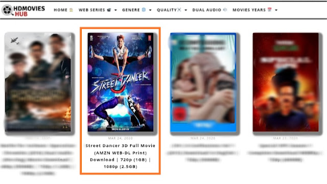 Free movies download site HDmovieshub , HDmovieshub site review