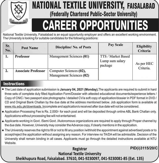 ntu-fsd-jobs-2020-national-textile-university