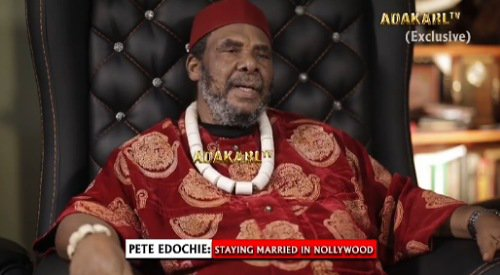 Your breasts won't be firm forever, don't deprive your children of breast milk – Pete Edochie advises women (Video)