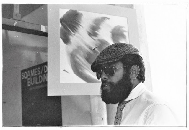 Lenny Campello at the Pike Place Market circa 1980