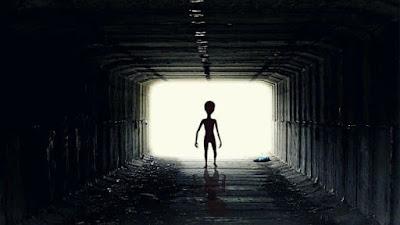 alien in ufo
