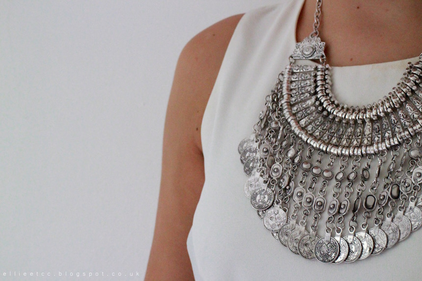 collaboration, Happiness Boutique, jewellery, necklace, sponsored, statement necklace, style,