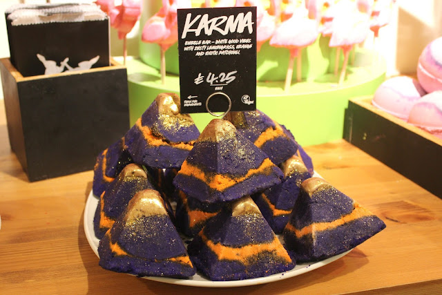 The newly reformulated Karma Bubble Bar at Lush Nottingham